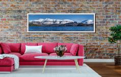 Skiddaw and Saddleback - White Maple floater frame with acrylic glazing on Wall