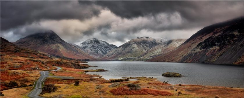 Wast Water Mountains - Lake District Canvas