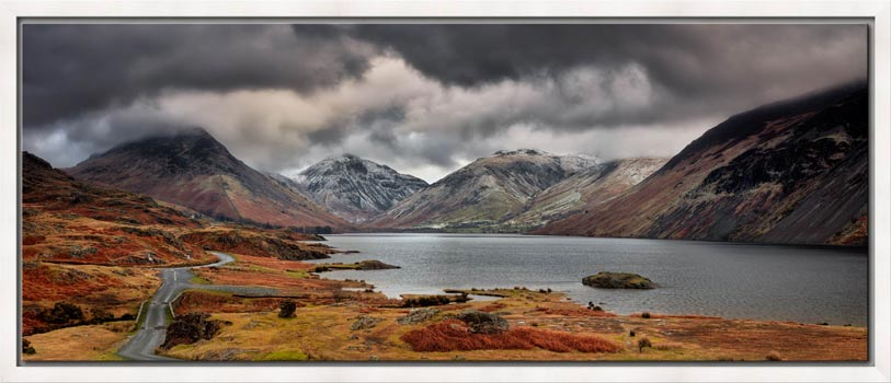 Wast Water Mountains - Modern Print