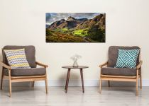 Cumbrian Way Langdale - Canvas Print on Wall