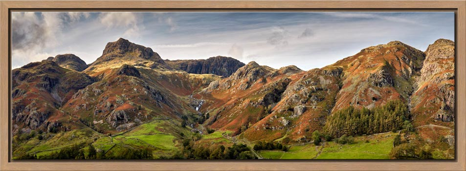 Harrison Stickle to Blea Rigg - Modern Print