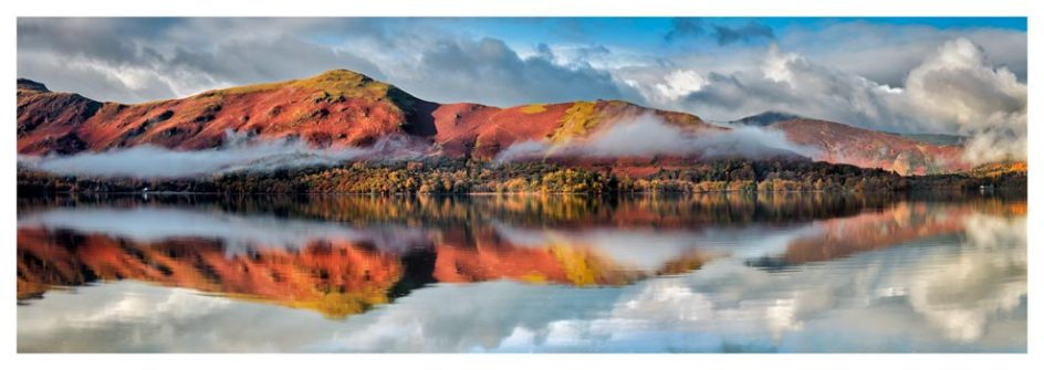 Cat Bells Autumn Mists - Lake District Print