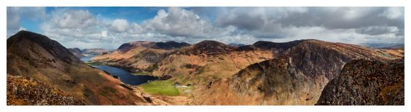 Fleethwith to High Crag - Lake District Print