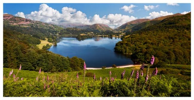 Summer at Grasmere - Lake District Print
