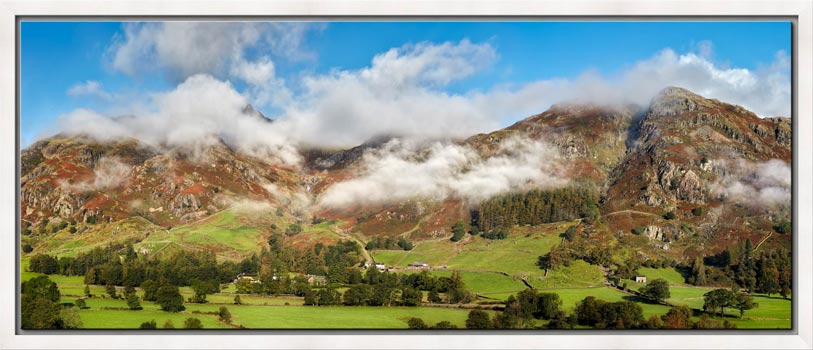 Misty Mountains of Langdale - Modern Print
