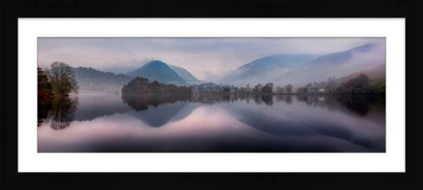 Misty Grasmere - Framed Print with Mount