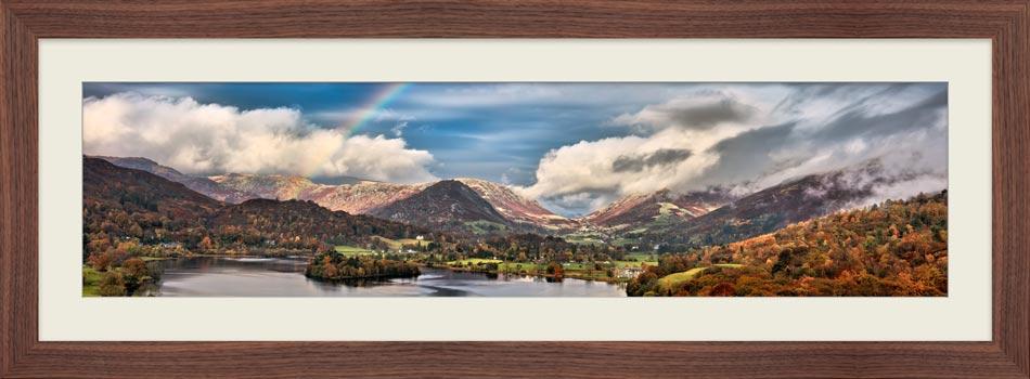 Grasmere Rainbow - Framed Print