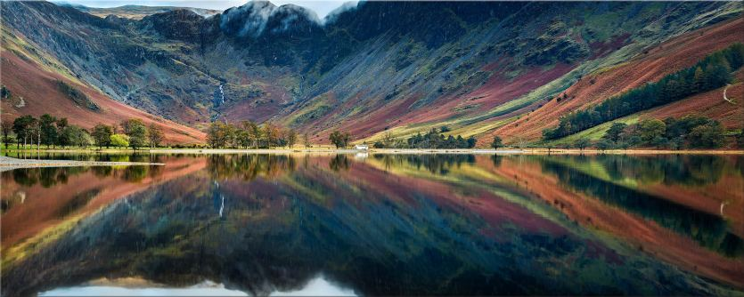 Buttermere Reflections - Lake District Canvas