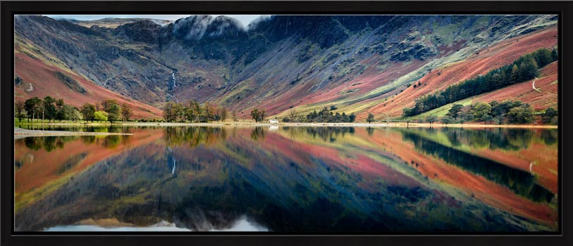 Buttermere Reflections - Modern Print