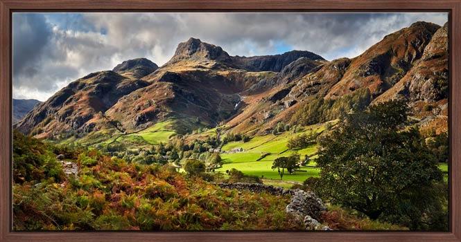 Cumbrian Way Langdale - Modern Print