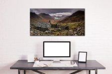 Warnscale Bothy - Canvas Print on Wall