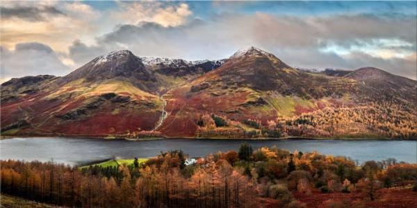 High Stile and High Crag - Canvas Print