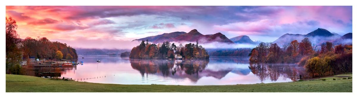 Derwent Water Sunrise - Lake District Print