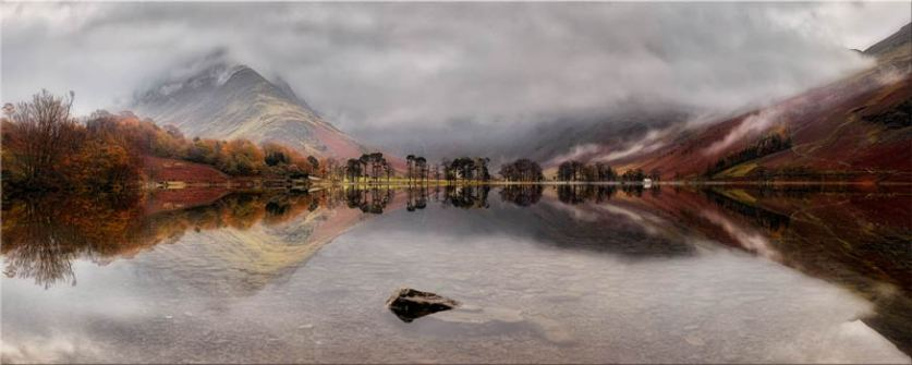 Buttermere Between the Showers - Lake District Canvas