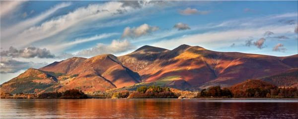 Skiddaw Sunshine - Canvas Print