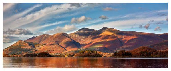 Skiddaw Sunshine - Lake District Print