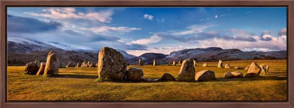 Morning Sunshine on Castlerigg - Modern Print