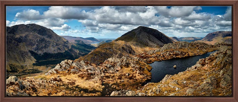 Pillar and High Crag from Haystacks - Modern Print
