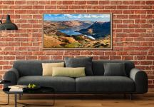 Ullswater From Harrison Crag - Oak floater frame with acrylic glazing on Wall