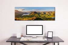 Summer in Great Langdale - Print Aluminium Backing With Acrylic Glazing on Wall