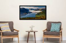 Glenridding Under the Clouds - Black oak floater frame with acrylic glazing on Wall