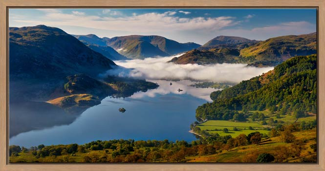 Glenridding Under the Clouds - Modern Print