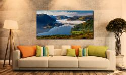 Glenridding Under the Clouds - Print Aluminium Backing With Acrylic Glazing on Wall