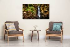 Stanley Ghyll Force Gorge - Print Aluminium Backing With Acrylic Glazing on Wall