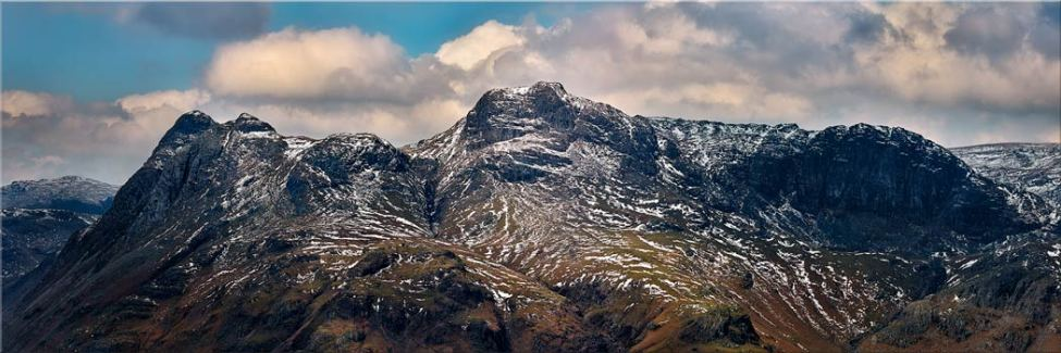 The Langdales and Pavey Ark - Canvas Print