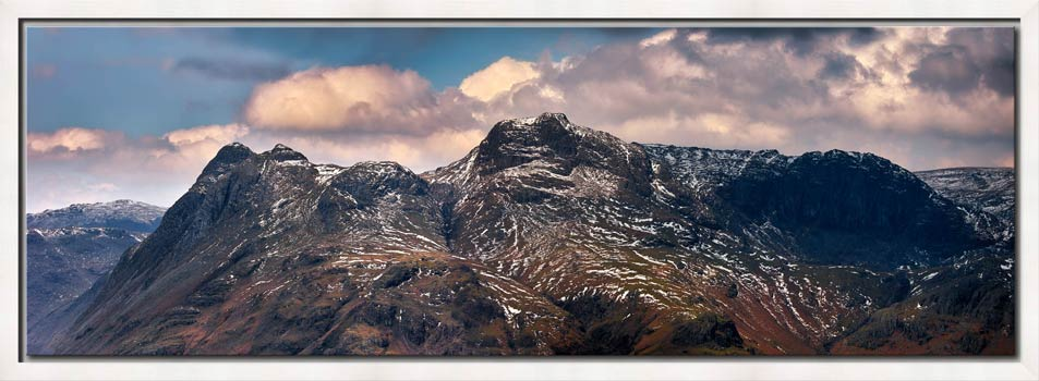 The Langdales and Pavey Ark - Modern Print