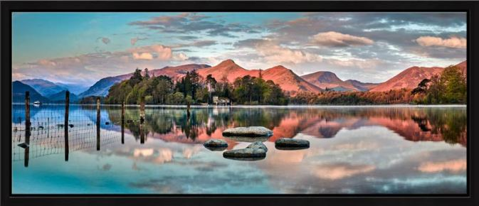 Derwent Isle Calm Dawn - Modern Print