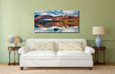 Late Autumn at Ashness Jetty - Canvas Print on Wall