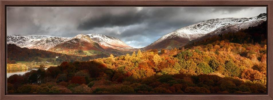 Autumn Fades Over Grasmere - Modern Print