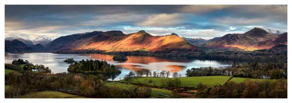Cat Bells Morning Light - Lake District Print