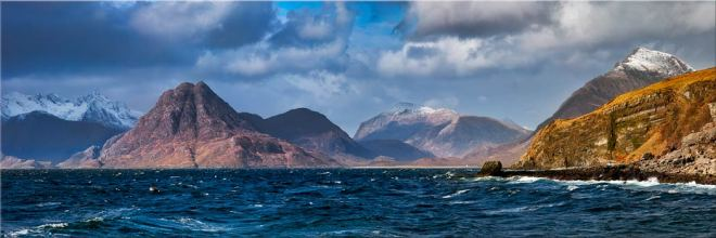 Cuillins From Elgol - Canvas Print