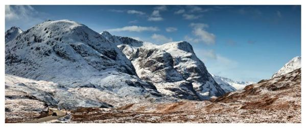 Glencoe in the Snow - Scotland Print