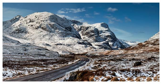 Road Through Glencoe - Scotland Print