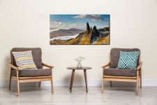 Old Man of Storr and Cuillins - Canvas Print on Wall