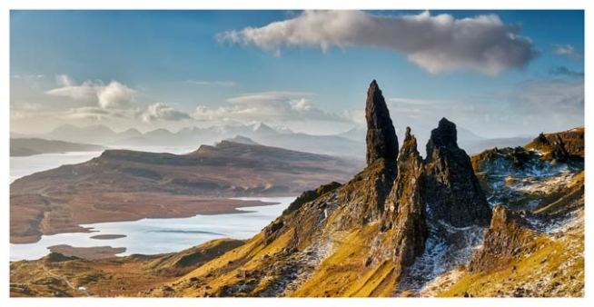 Old Man of Storr and Cuillins - Scotland Print