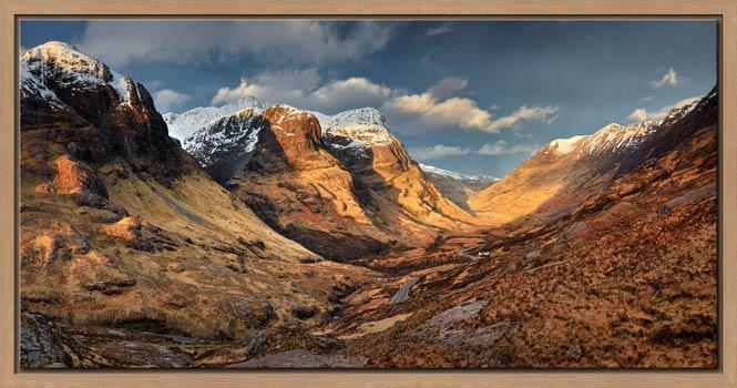 Mountains of Glencoe - Modern Print