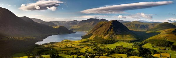 Loweswater Fell Summit - UltraHD Print with Aluminium Backing