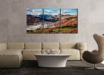 Chapel Stile Langdale - 3 Panel Canvas on Wall