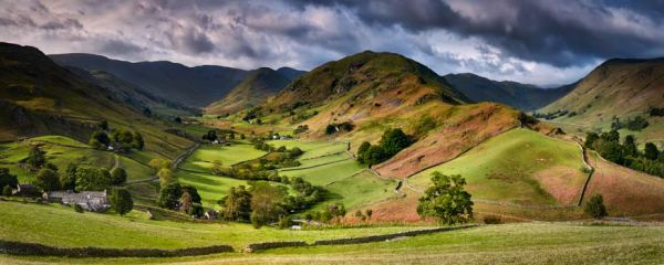 The Martindale Valleys - UltraHD Print with Aluminium Backing