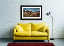 Glencoe Stones - Framed Print with Mount on Wall
