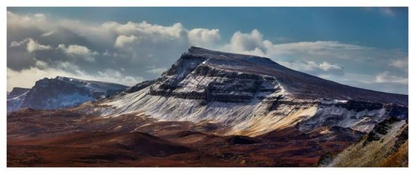 Winter on the Trotternish Mountains - Print