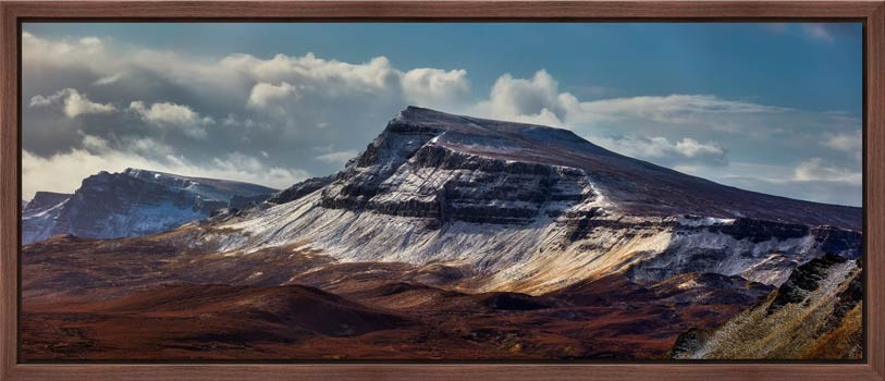 Winter on the Trotternish Mountains - Modern Print