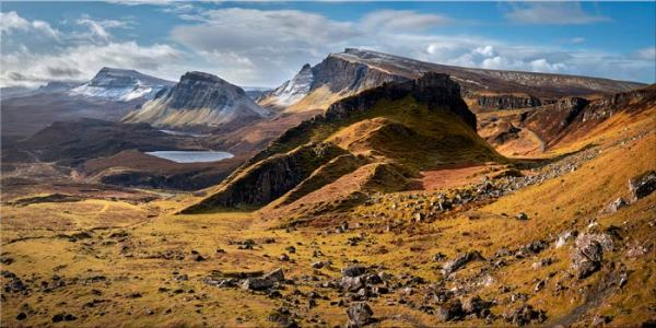 Quiraing Boulder Field - Canvas Print