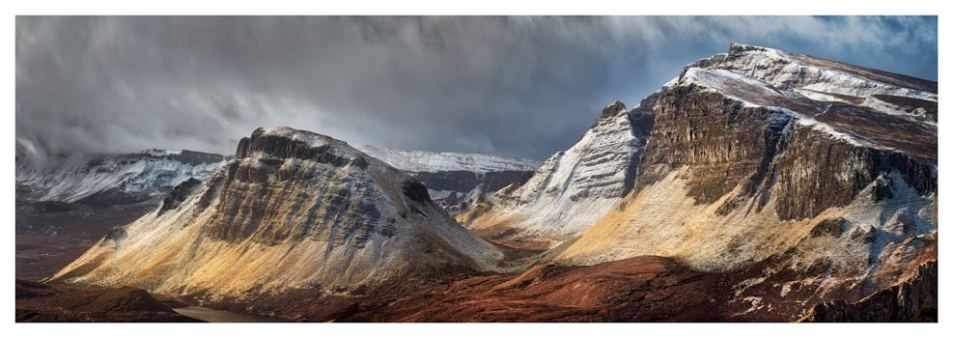 Winter Storm Quiraing - Isle of Skye Print