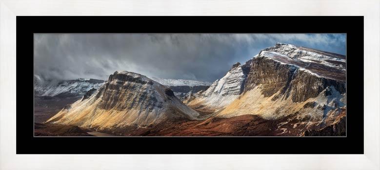 Winter Storm Quiraing - Framed Print