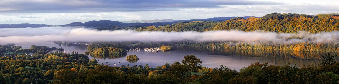 Bowness On Windermere Morning Mists - UltraHD Print
